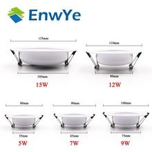 LED Downlight Enwye Ceiling White 230V 220V 9W Warm 5W 12W AC 7W 240V