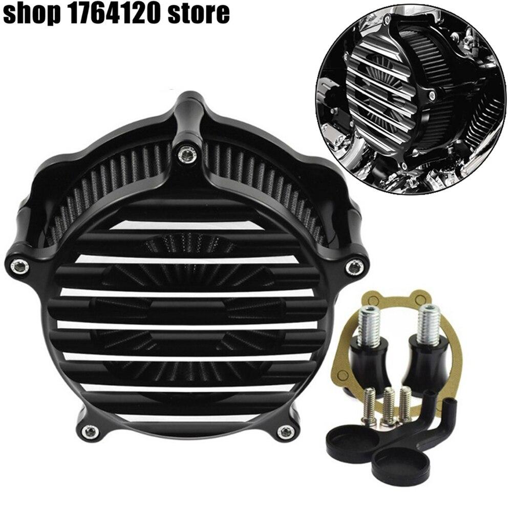 Мотоцикл воздухоочиститель Впускной фильтр для Harley Dyna FXDLS 2017 Softail 200 2015 Touring 2017 up Softail 2018 XL Sportster 91 17