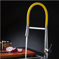 2015 New Pull Down Kitchen Faucet Torneira Cozinha Modern Design Kitchen Tap Pull Out Kitchen Mixer