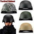 Nuevo 2017 juego de Entrenamiento en vivo CS militar Paintball Airsoft tactical cascos G.I. estilo Plástico ABS MICH-2000 Estilo Casco de $ number colores