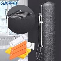 Gappo ванны смесители Смеситель для ванны show стула Туалет складной стул настенный душ мест ванны скамья