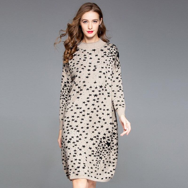 956ab8c5895 Longue 2019 parleur En Tissu Robe Haut 2 Élégant Grande Lâche Décontracté  Vintage D été Taille Vêtements Aa0078 Étoiles Femme 1 Femmes Robes ...