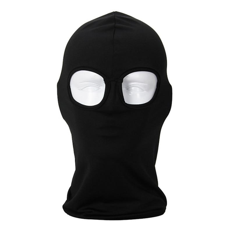 Full Cover 2 Holes Face Mask Headwear Balaclava head caps   skullies     beanies