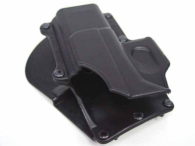 US $9 74 50% OFF|Polymer Retention Roto Holster for Glock 19/23/25/28/32  Right Handed Gen 4 Compatible and Double magazine Pouch 9/40 black-in  Hunting