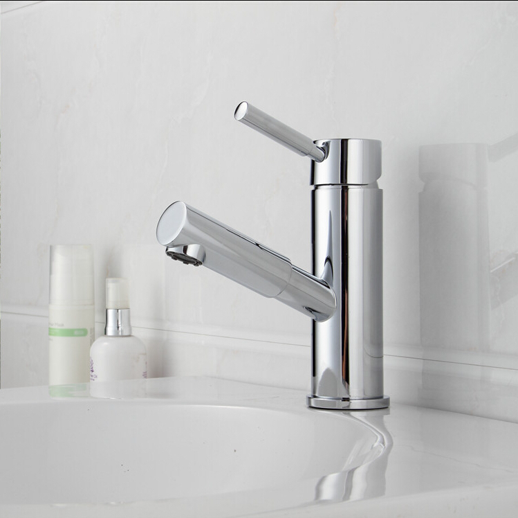 BECOLA Bathroom Faucet Mixer Tap Ceramic Cartridge Chrome Single Hole  Faucet Bathroom Washbasin Torneira Banheiro LT 603A In Basin Faucets From  Home ...