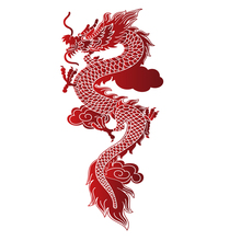 Flying Dragon Wall Stickers for Kids Rooms Bedroom Self Adhesive Vinyl Waterproof Wall Art Decal Adesivo De Parede