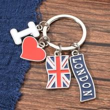 Vicney Fashion Jewelry Accessories I Love London Key Chain Heart Shape Metal Zinc Alloy Keychain With Letter I Keyring Key цена 2017