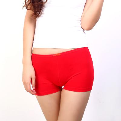 Big size Cotton Mid Waist Sexy Solid Breathable Boyshorts Panties For Lady Boxer panties Underware Big Size women panty briefs