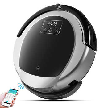 Wet And Dry Robot Vacuum Cleaner B6009,Map navigation,3000Pa Suction, ,Smart Memory,Wifi APP, Water tank,Lithium battery - DISCOUNT ITEM  52% OFF All Category