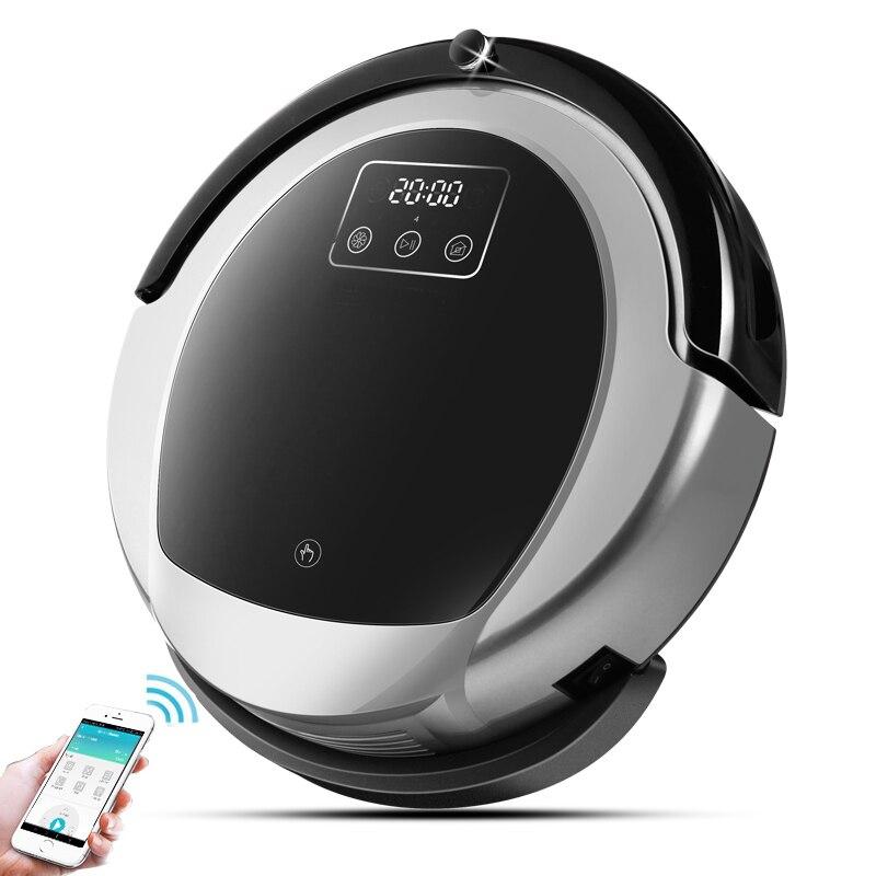 Wet And Dry Robot Vacuum Cleaner B6009, Mapa de navegação, 3000 Pa Sucção,, Inteligente de Memória, wifi APP, tanque de Água, bateria De Lítio