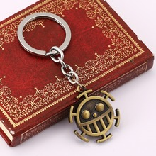 One Piece Vintage Bronze  Keychain