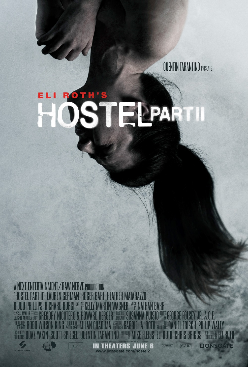 HOSTEL Part II 2 Movie Poster Horror Torture Porn Eli Roth Print on Silk  Home Decoration 12x18 24x36 inch