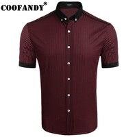 COOFANDY Hot Sale New 2017 Men Polo Shirt Solid Color Short Sleeve Slim Fit Shirt Men