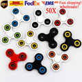 2017 Hot sale 100PCS Batch Free Shipping Metal Bearings Fidget Rotor Adult Release Pressure Gondola Gyro Toys Hand Spinner led