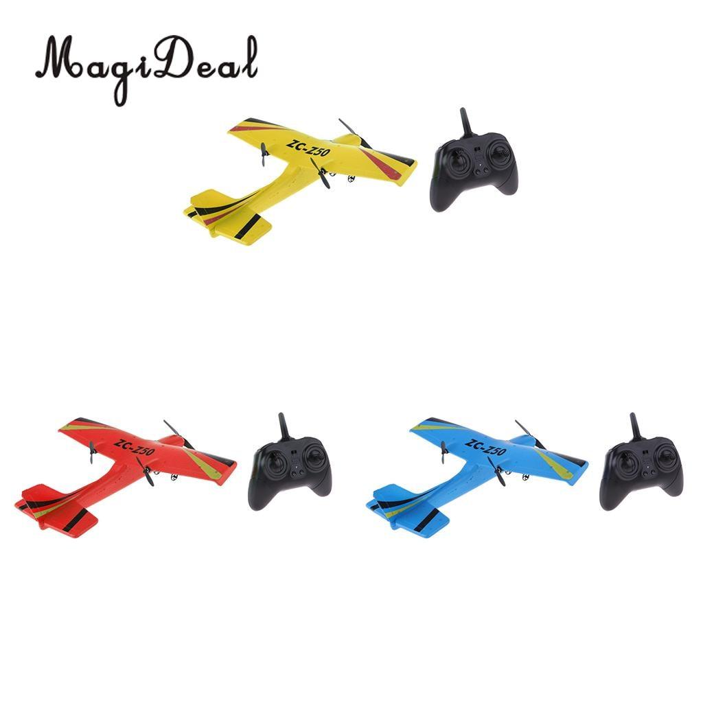 все цены на MagiDeal Remote Control RC Glider Airplane Aeroplanes EPP 2CH 2.4G RTF Toys