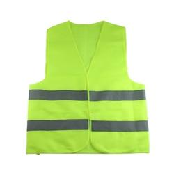 Жилет Одежда для дорожного движения мотоцикл ночной всадник зелено-желтый Безопасность видимость светоотражающий Велоспорт Спорт на откр...