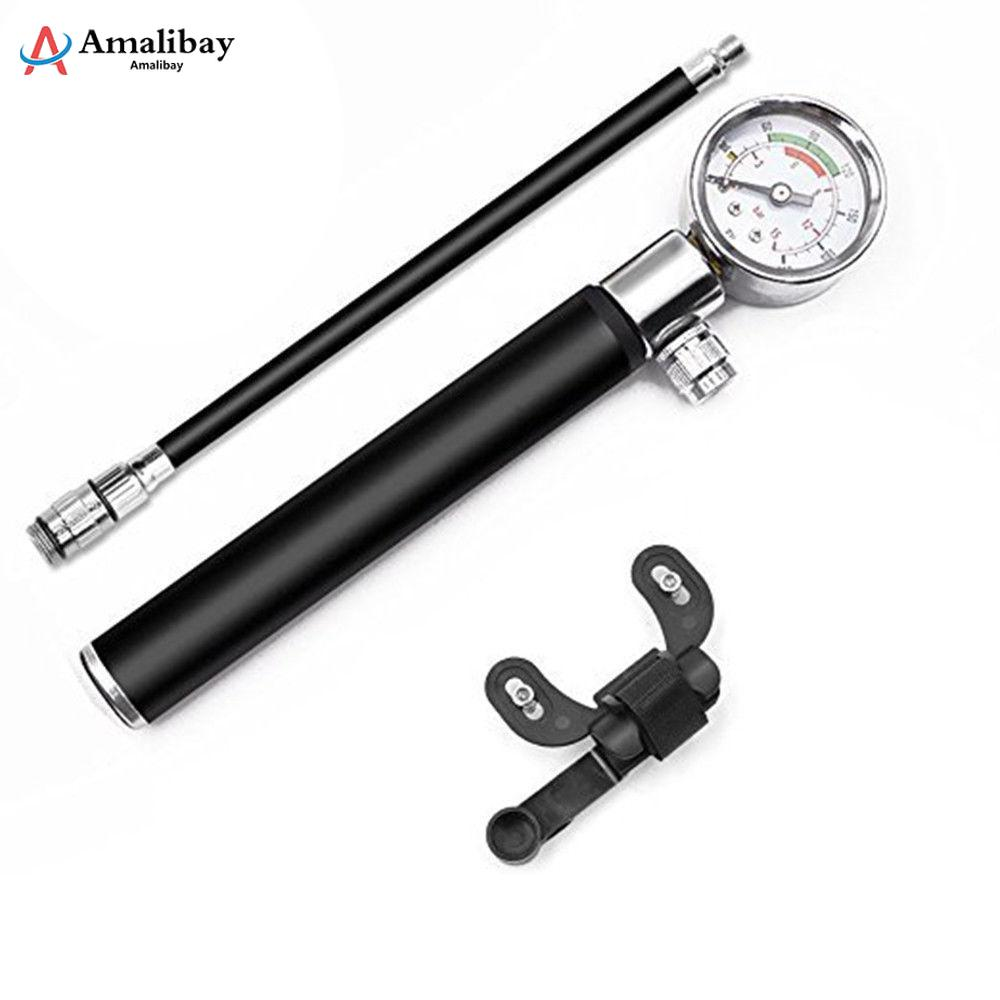 Xiaomi M365 Tire High Pressure Mini Pump With Gauge Hose Xiaomi Scooter Tire Hand Air Inflator 210 PSI Portable Pump 53000459