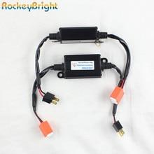 Rockeybright ошибок светодио дный фар декодер ксенона H1 H3 9005 9006 H7 H11 H13 H8 фара для BMW для Mercedes светодио дный декодер