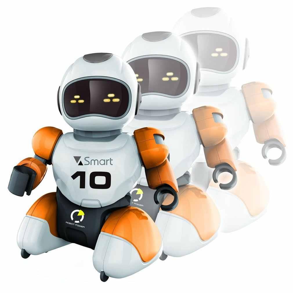 RC 로봇 Kawaii 만화 스마트 플레이 축구 로봇 원격 제어 완구 어린이를위한 전기 노래 춤 축구 로봇 아이 장난감