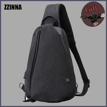 Zzinna Студенческая сумка для мужчин рюкзак слинг в стиле нормкор