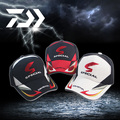 Outdoor Summer Quick-Drying Daiwa Fishing Caps Windstopper Waterproof Fabric Mesh Breathable UV Protection Sun Hat Men-3 Colors
