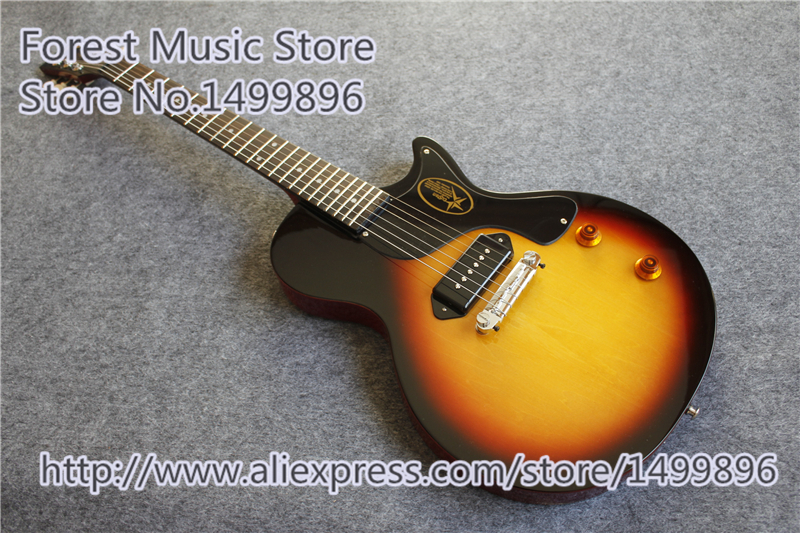 New Arrival Simplicity LP Junior Electric Guitars Vintage Sunburst Finish For Sale hot selling randy rhoads signature yellow lp electric guitars with ebony fretboard left handed available