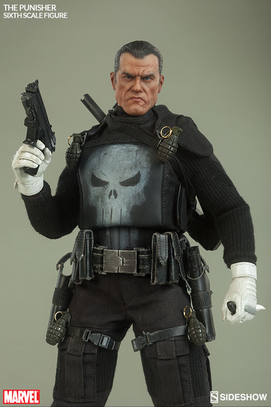 1:6 scale figure doll Frank Castle Punisher 12 Action figure doll Collectible model plastic toy 1 6 scale figure doll terminator3 rise of the machines fembot t x 12 action figure doll collectible model plastic toy