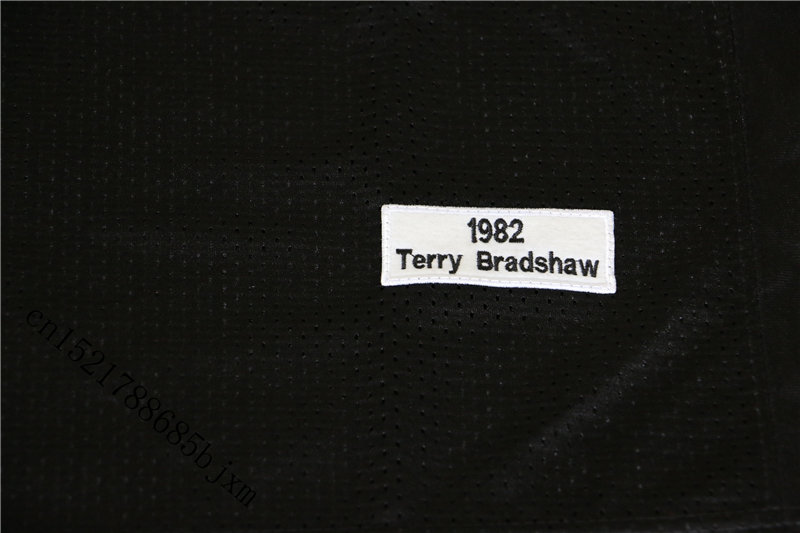 1b271e59c76 Mens 1982 Retro Terry Bradshaw Stitched Name&Number Throwback Football  Jersey Size M 3XL-in America Football Jerseys from Sports & Entertainment  on ...