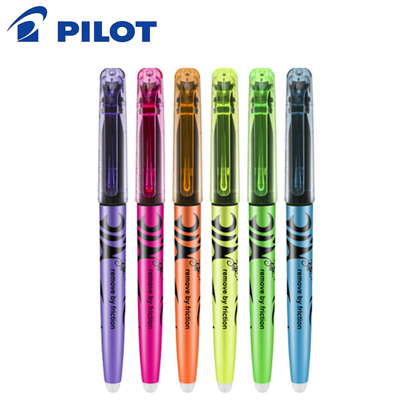 Us 11 29 5 Off 6 Pcs Lot Japan Pilot Frixion Erasable Pen 6 Colors To Choose Sw Fl Marker Pen Office And School Stationery In Gel Pens From Office