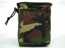 New Small Capacity Waist Molle Military Tactical Airsoft Paintball Hunting Folding Mag Recovery Dump Pouch