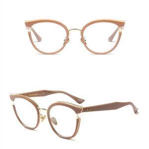 Image 4 - 2019 Nuove Donne di Disegno di Stile di Occhiali da Lettura di Qualità Cerchio Pieno di Moda Rotonda Presbiopia Occhiali per Le Donne Oculos De Leitura