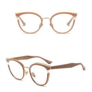 Image 4 - 2019 ออกแบบใหม่ผู้หญิงคุณภาพสูงแว่นตาอ่านหนังสือเต็มรูปแบบขอบรอบ Presbyopia แว่นตาผู้หญิง oculos de leitura