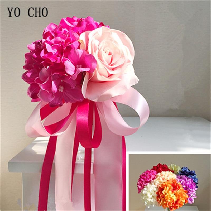 Haus & Garten Yo Cho Handgelenk Corsage Brautjungfer Schwestern Hand Blumen Silk Künstliche Braut Blume Hochzeit Tanzen Party Decor Bridal Prom Flores