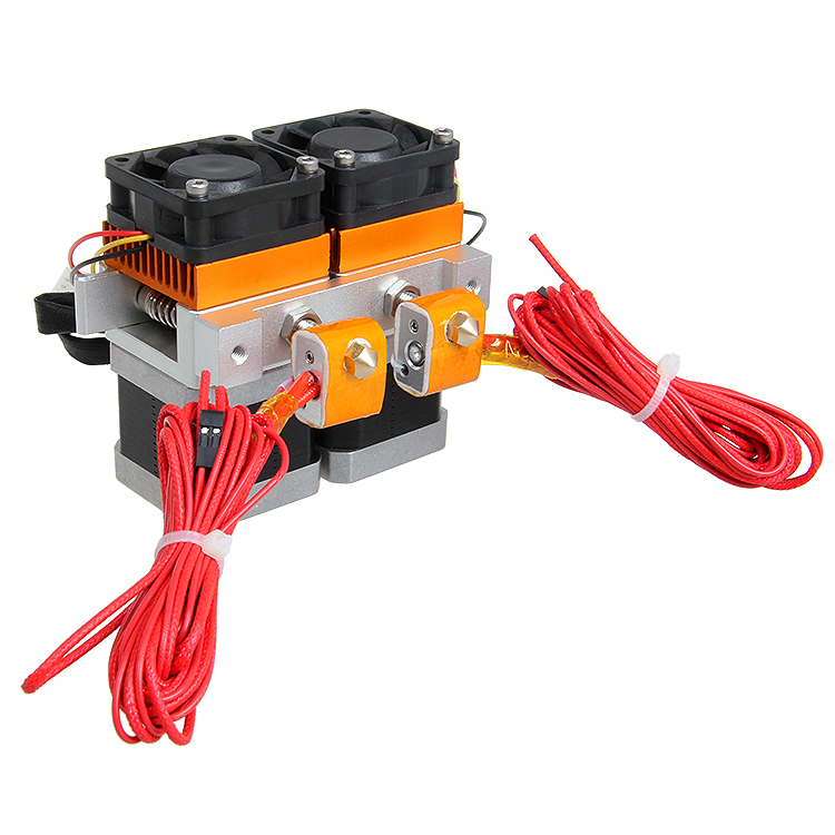3D Printer Parts MK8 Double Color Extruder Print Head for Mendel Prusa Makerbot Printrbot Printhead Free shipping матрас dreamline springless mix hol 150х190 см