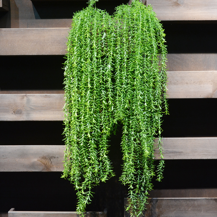 Well-Educated 98cm 1pc Artificial Green Water Plants Rattan Bouquet Fake Auqatic Hanging Plant Vine Home Wedding Wall Decor Foliage Leaf Festive & Party Supplies