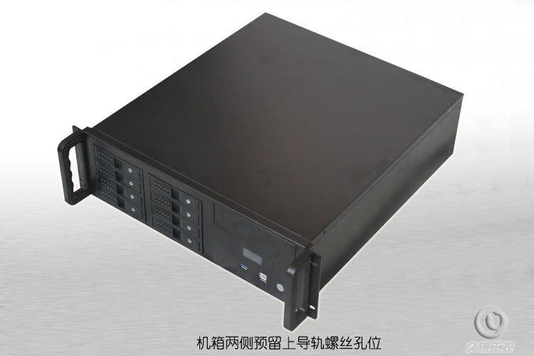 3U font b Server b font Computer case R3u480 8 Support ATX Motherboard 8 hot pluggabel