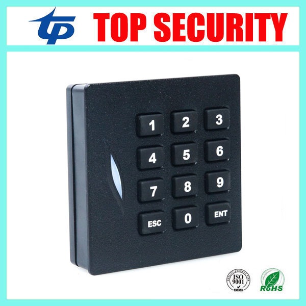 KR102 13.56MHZ MF card reader with keypad for access control system access control keypad IP65 waterproof weigand34 card reader contact card reader with pinpad numeric keypad for financial sector counters