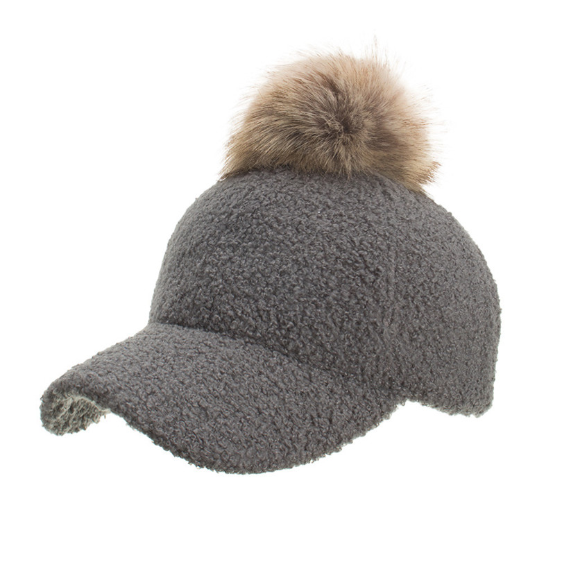 Winter Women\`s Caps Wool Baseball Cap Black Tactical Hat Shade Hats Winter Casual Bone Gorras Para Hombre Wholesale 40OR1522
