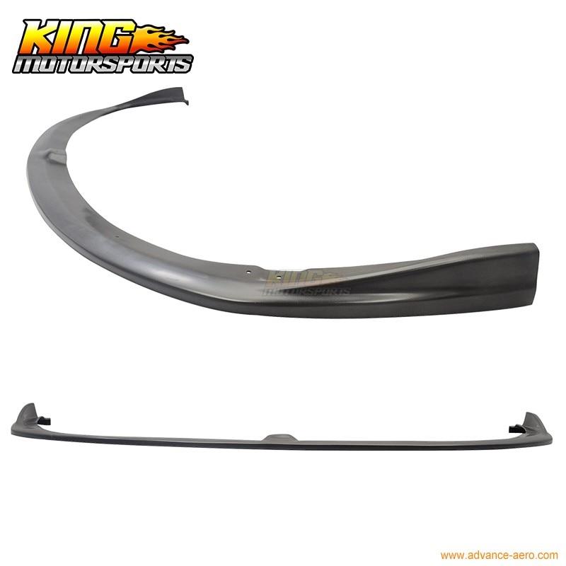 Carbon Bottom Line CS Style Front Bumper Lip Fits 08-10 Subaru Impreza STI 5dr