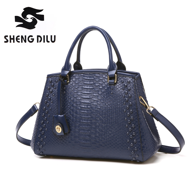 Luxury handbags women bags designer genuine leather tote bag female famous brand serpentine shoulder bags ladies messenger bag