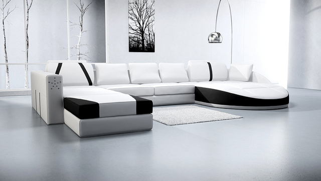 Big White Leather Corner Sofa Soft Line Leather Sofas Lorenzo Leather Sofa