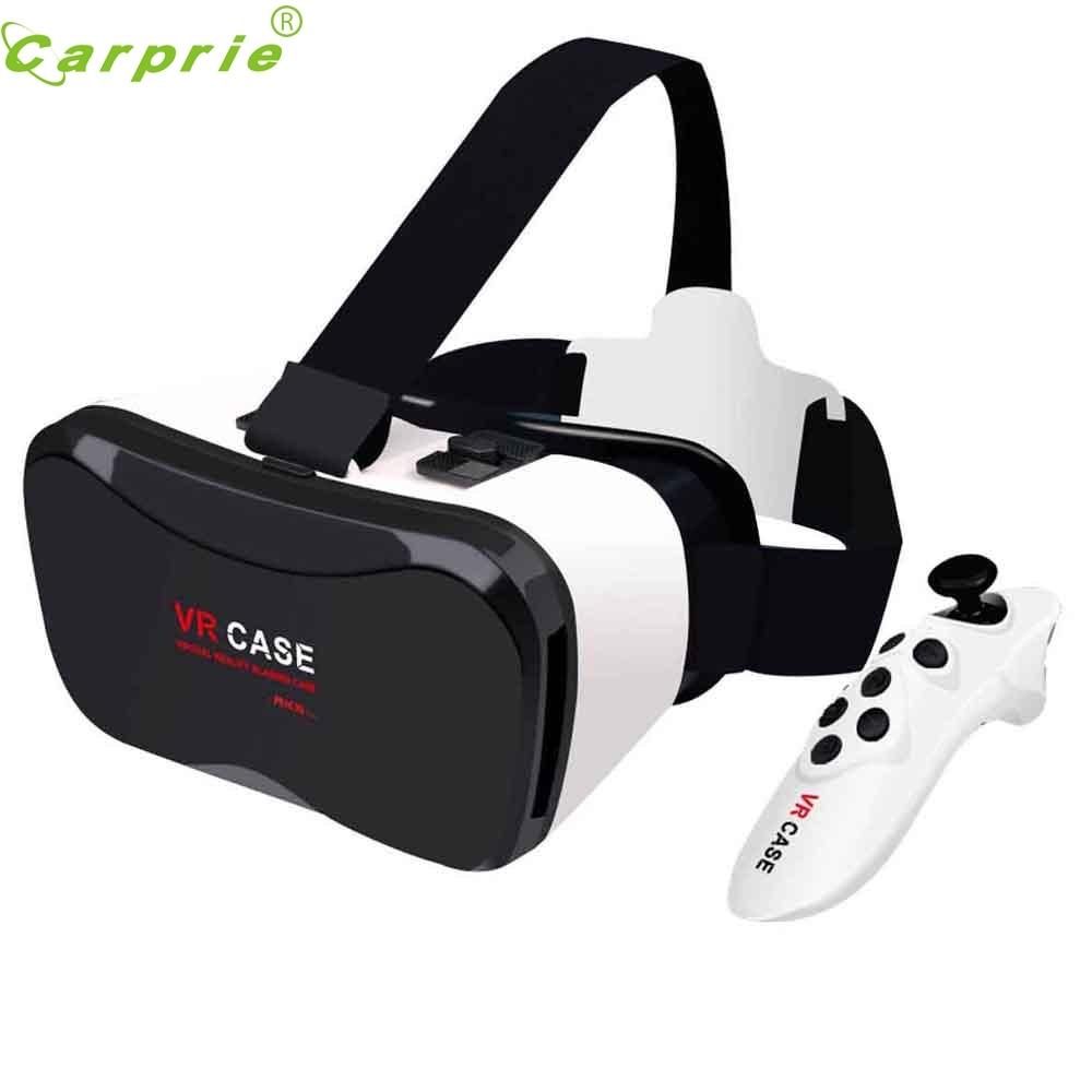 New VR <font><b>Case</b></font> Plus Immersive <font><b>Virtual</b></font> <font><b>Reality</b></font> <font><b>Glasses</b></font> For 4-6.3 inch SmartPhone+<font><b>Remote</b></font> Control Nov14