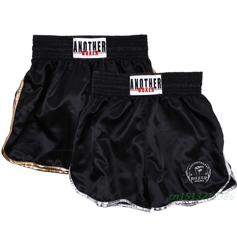 Anotherboxer Kick Boxing MMA Shorts Fight Fighter Muay Thai Short Trunks