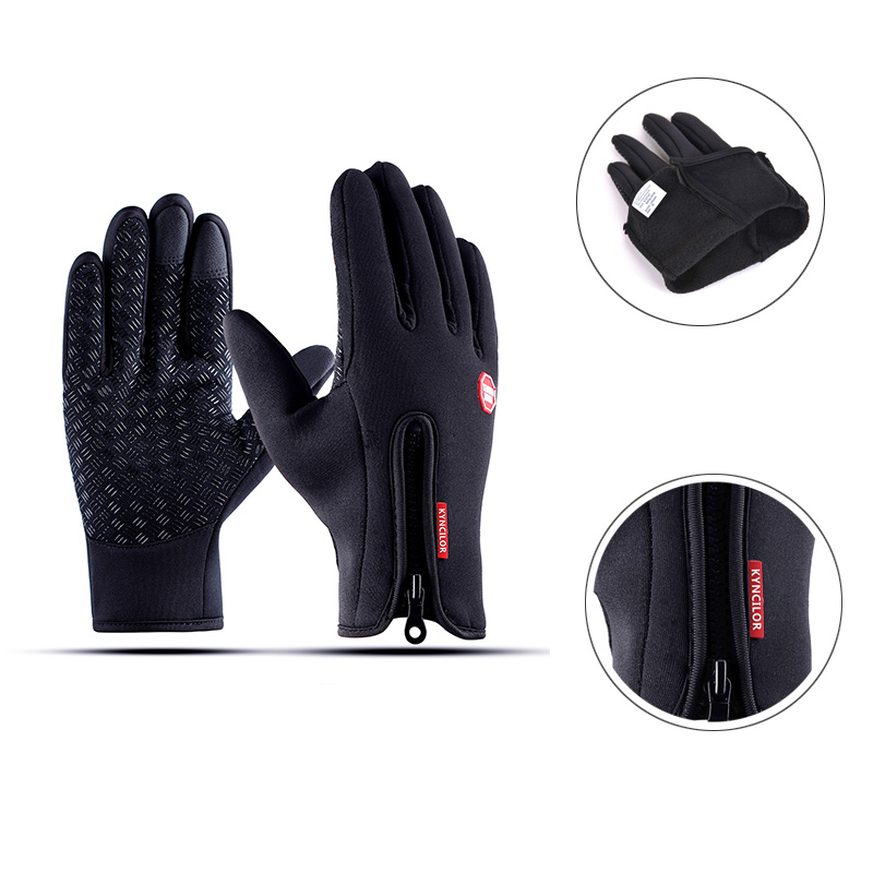 Touch Screen Men Women Cycling Gloves Full Finger luvas ciclismo Windproof Outdoor Sport Men Gloves Bike Gloves Winter luvas giyo touch screen non slip breathable long gloves bike bicycle cycling cycle full finger ciclismo luvas gloves smartphone