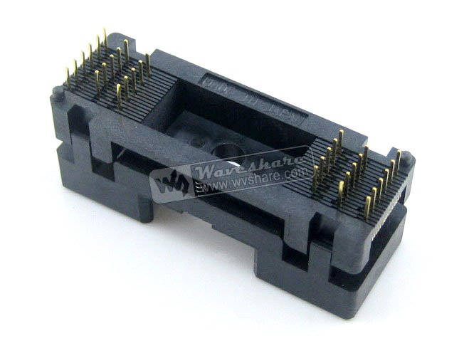 module TSOP32 TSOP OTS-32-0.5-08 Enplas IC Test Burn-In Socket Programming Adapter 18.4mm Width 0.5mm Pitch tsop32 tsop ots 32 0 5 08 enplas ic test burn in socket programming adapter 18 4mm width 0 5mm pitch