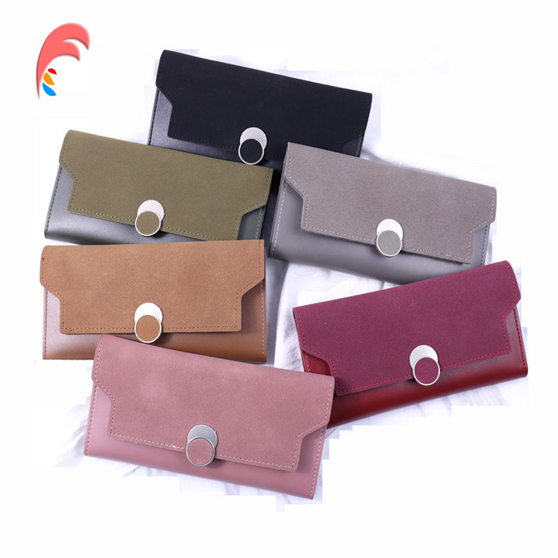 Panelled Luxury Brand Women Wallets Fashion Hasp Leather Wallet Female Purse Women Clutch Long Wallets Bag Ladies Card Holder korean brand design pu leather solid hasp envelope day evening clutch wallets 16 card bags long wallet for women ladies purse