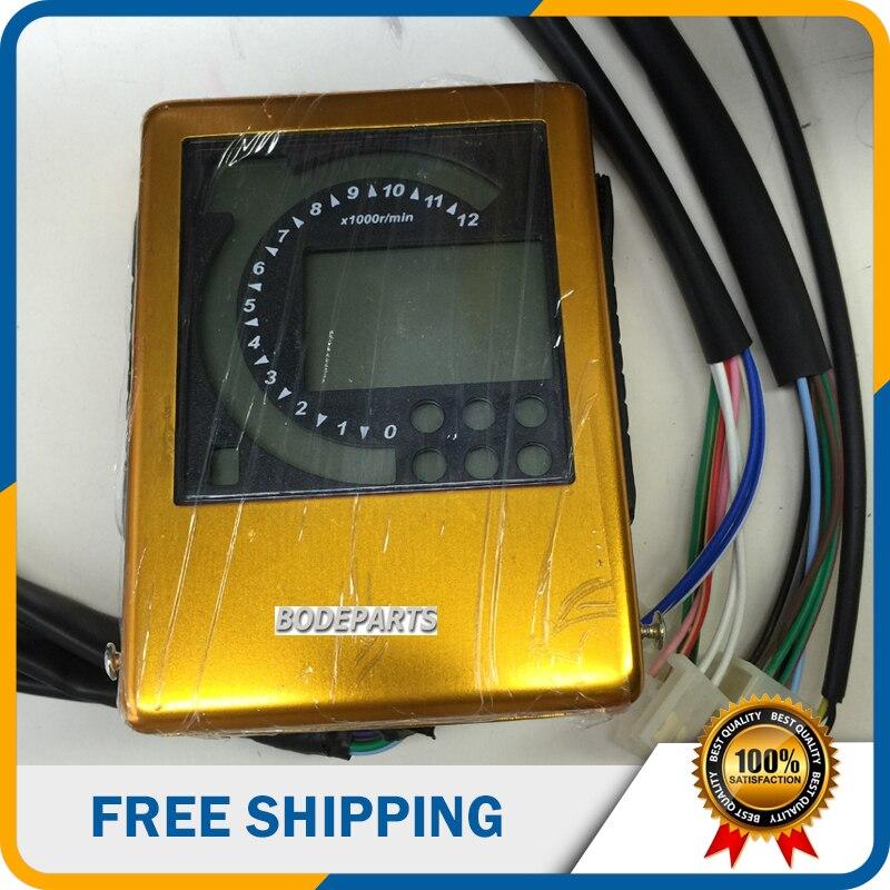 Bashan 250cc Atv Utv Buggy Speedómetro Instrumento (bd-dq189) Materiales De EleccióN