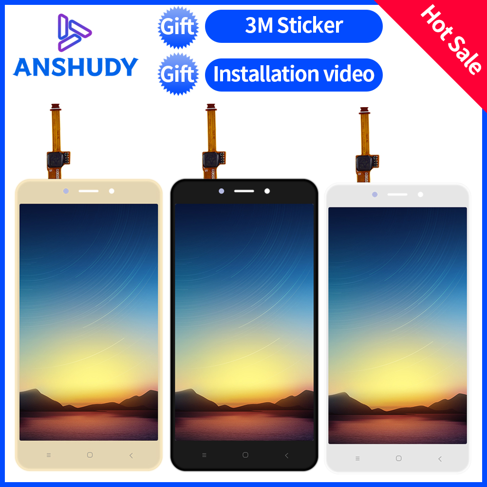 New For Xiaomi Redmi 4X LCD Display Redmi 4X LCD Panel Screen Module Redmi 4X Touch Screen Digitizer Sensor Glass Assembly FrameNew For Xiaomi Redmi 4X LCD Display Redmi 4X LCD Panel Screen Module Redmi 4X Touch Screen Digitizer Sensor Glass Assembly Frame