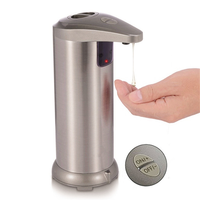Automatic Soap Dispenser Infrared Motion Sensor Stainless Steel Dish Liquid Hands free Auto Hand Soap Dispenser