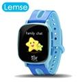 Lemse crianças smart watch 1.3 'tft touch screen proteção para os olhos Kid Relógio Apoio SIM GPS one-chave SOS Para Crianças Segura anti-lost